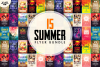 15 SUMMER Flyer Templates Bundle example image 1