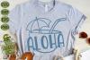 Aloha Coconut Drink Summer Beach SVG Cut File example image 3