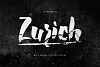 Zurich Brush Font + Swashes example image 1