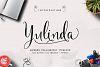 Yulinda Script example image 2