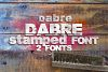 Dabre Font example image 3