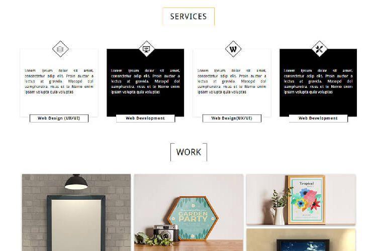 albert ux designer portfolio template theme planet