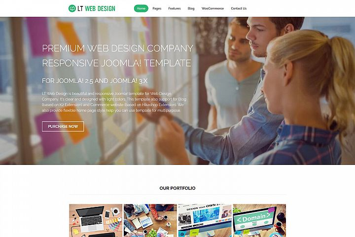 LT Web Design - Web Development / Web Design WordPress Theme