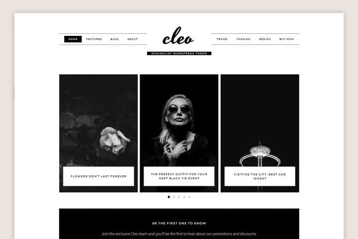Cleo Theme // Genesis Child Theme