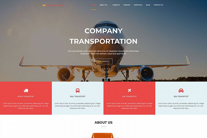 LT ProTrans - Premium Automotive / Transport WordPress Theme