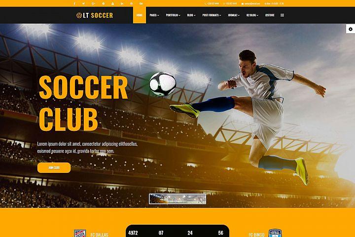 LT Soccer - Responsive Premium Private Joomla Soccer theme