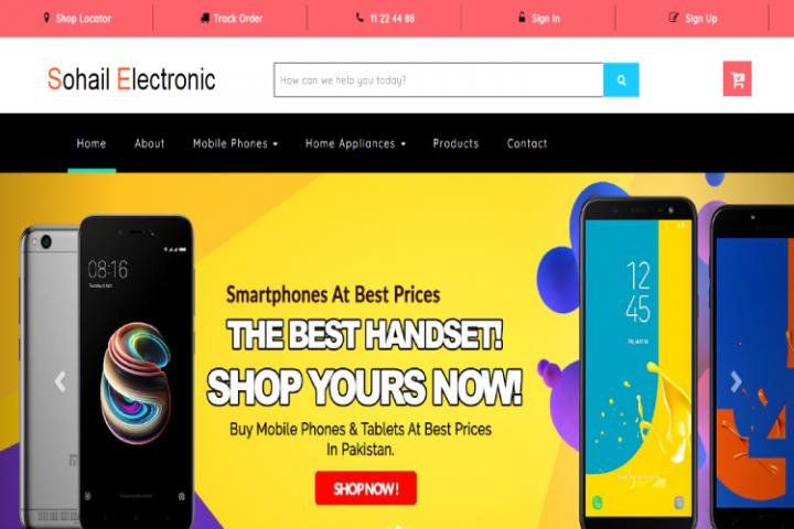 Sohail Electronic - eCommerce html theme