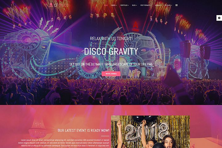 LT Disco - Responsive Premium Private Club Joomla Template