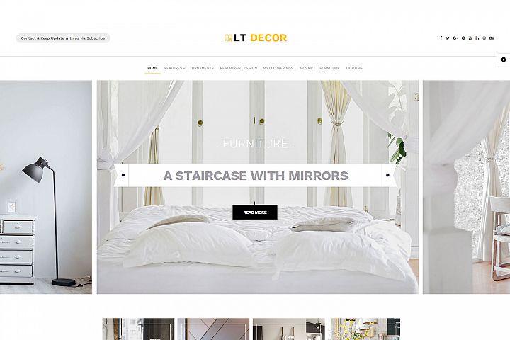 LT Decor - Private Interior Decorating Joomla Template