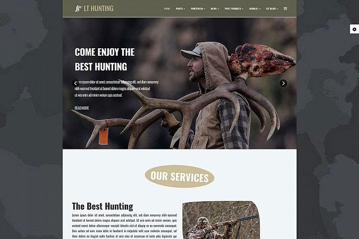 LT Hunting - Premium Private Hunting Joomla Template