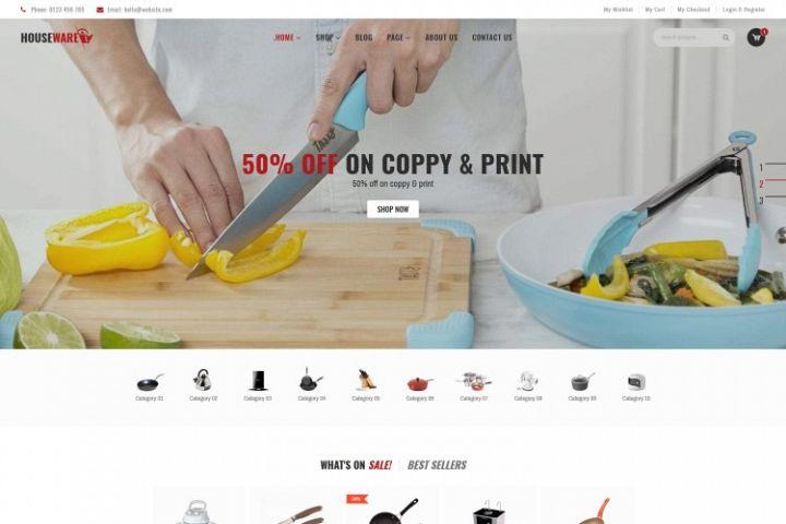 Houseware - Responsive WooCommerce Elementor Theme
