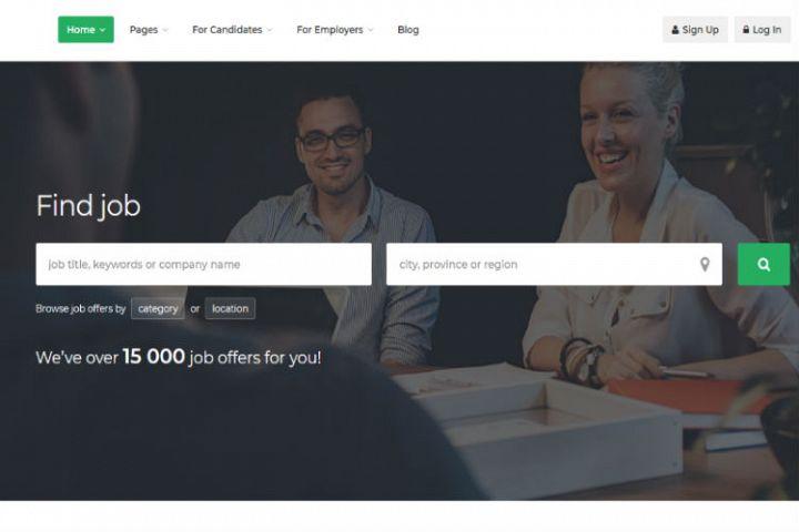 Jobcus - Job Board HTML Template