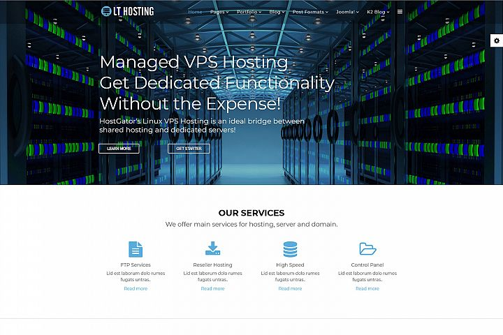 LT Hosting - Hosting Provider/ Hosting Joomla Template