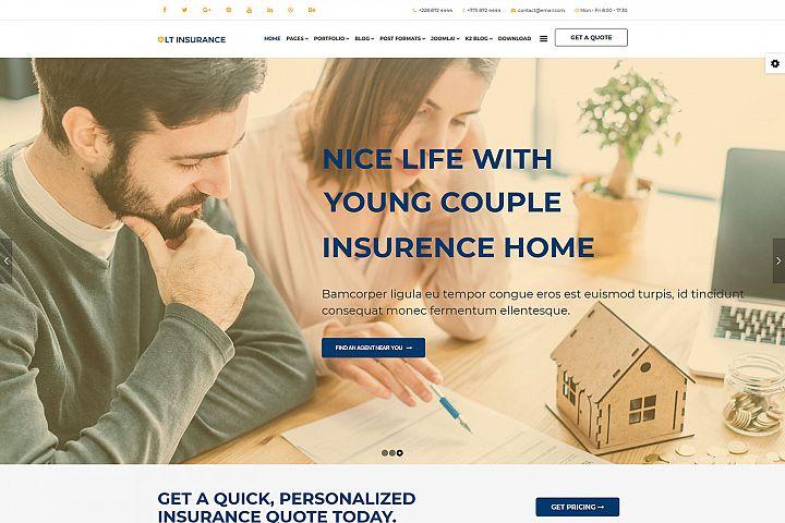 LT Insurance - Premium Private Joomla Insurance Theme