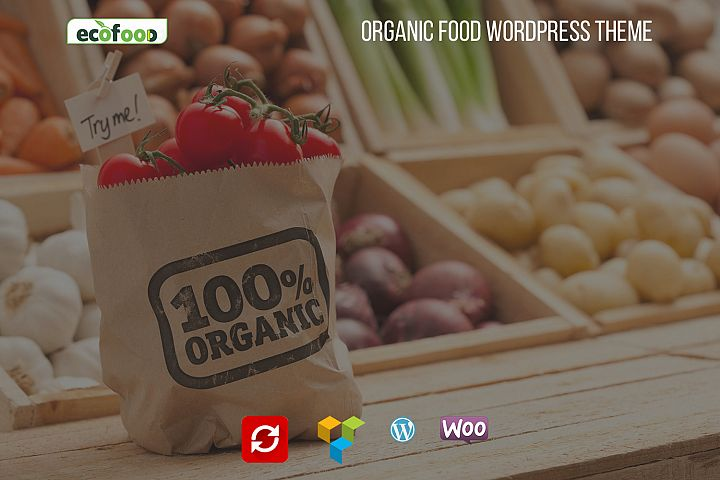 Ecofood - Organic Food WordPress Theme