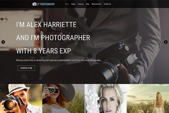 LT Photography - Image Gallery/Photography WordPress Theme