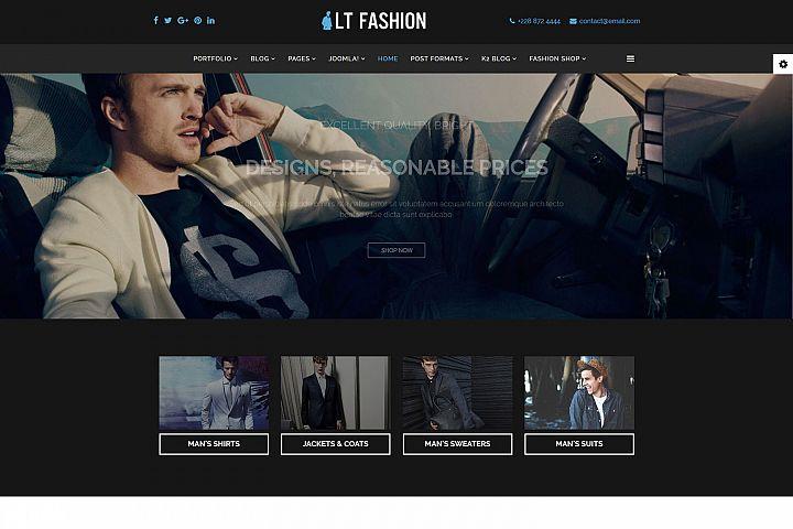 LT Fashion - Premium Responsive Joomla Fashion template
