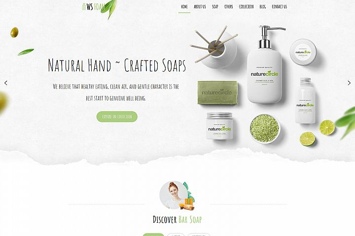 WS Foam Responsive Soap WooCommerce wordpress theme