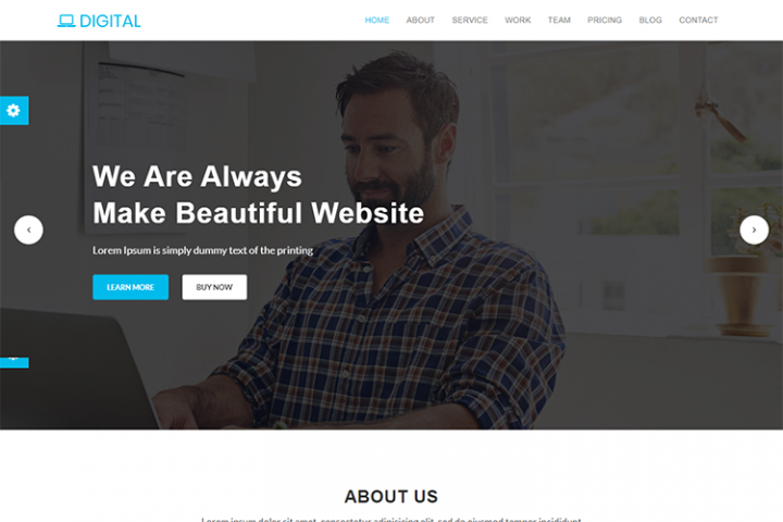 Digital - Business Multipurpose HTML5 Template