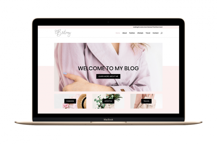 The Britney - Divi Child Wordpress Theme