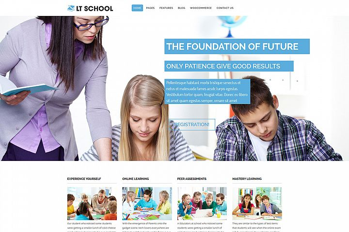 LT School - Premium College / University WordPress Theme