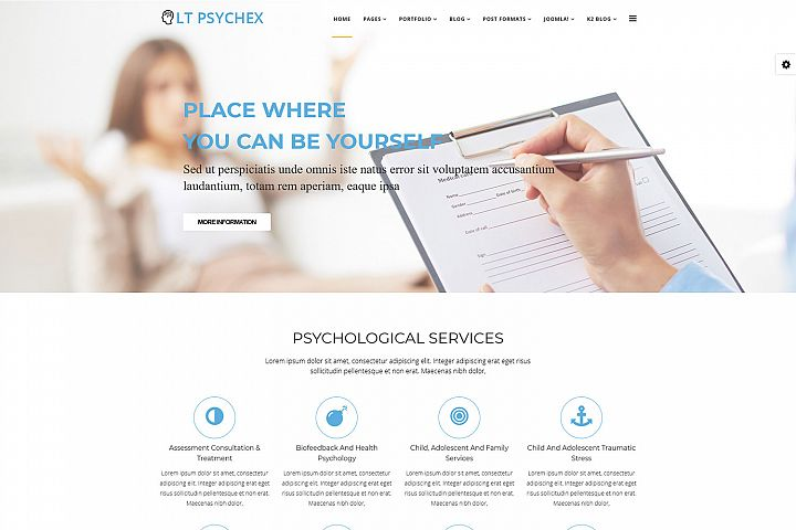 LT Psychex - Premium Joomla Psychology Templates