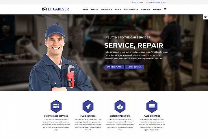 LT Careser - Premium Joomla Automotive Website Template