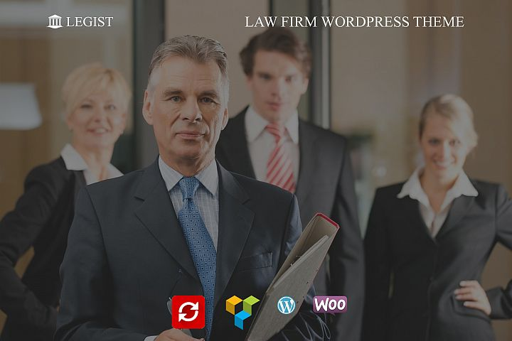 Legist - Law Firm WordPress Theme