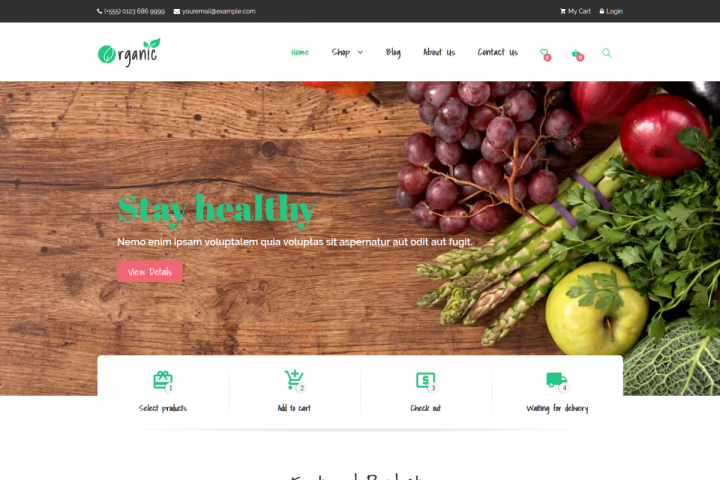 Organic - Multipurpose WooCommerce Theme