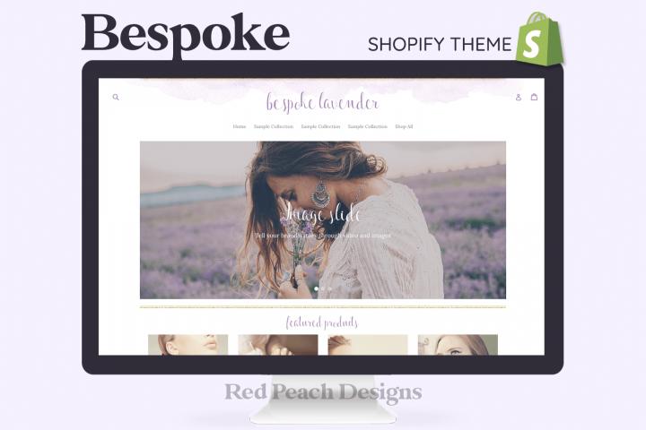 Bespoke Lavender Feminine Responsive Shopify Theme