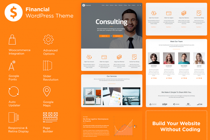 Financial WordPress Theme