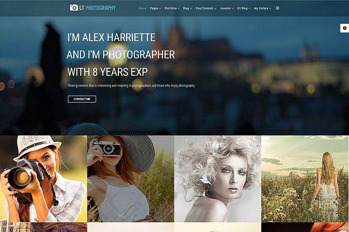 LT Photography- Premium Joomla Photography template