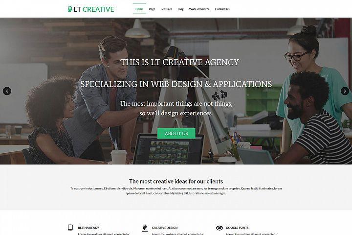 LT Creative - Premium Image Design/Creative WordPress Theme