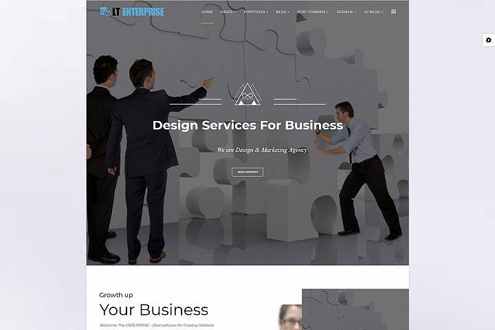 LT Enterprise - Premium Joomla Enterprise Template