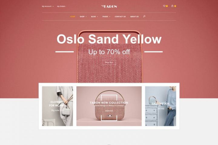 Taron - Multipurpose WooCommerce WordPress Theme