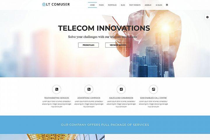 LT Comuser - Premium Joomla Communication Template