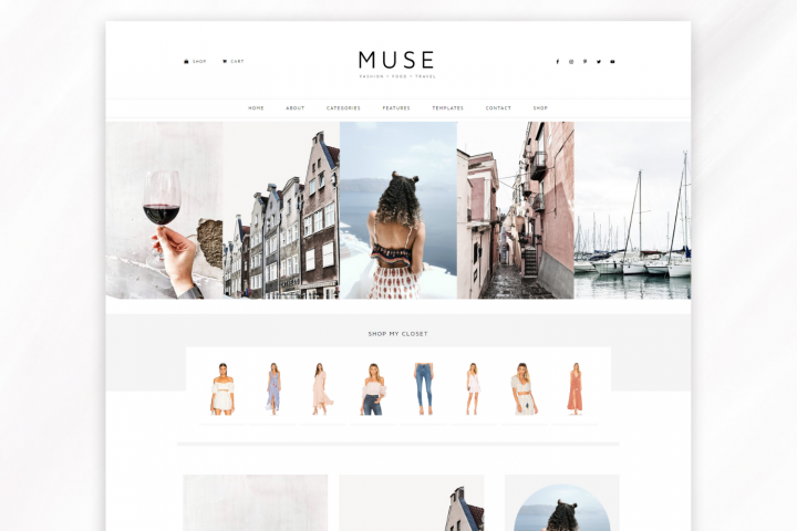 Responsive WordPress Theme for Blogs - Muse