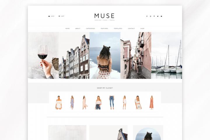 Responsive WordPress Theme for Blogs - Muse