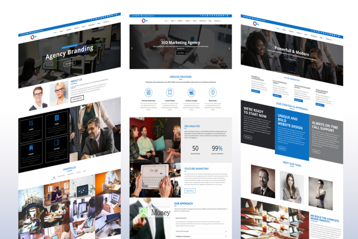 Ali Multipurpose Divi Business Corporate Child Theme