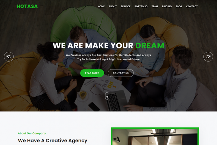 Hotasa Consulting & Business HTML5 Template