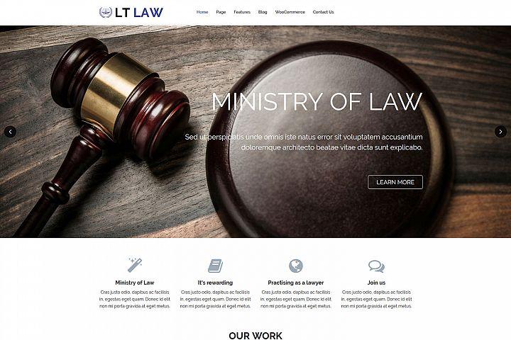 LT Law - Premium Responsive Legal / Law Firm WordPress Theme