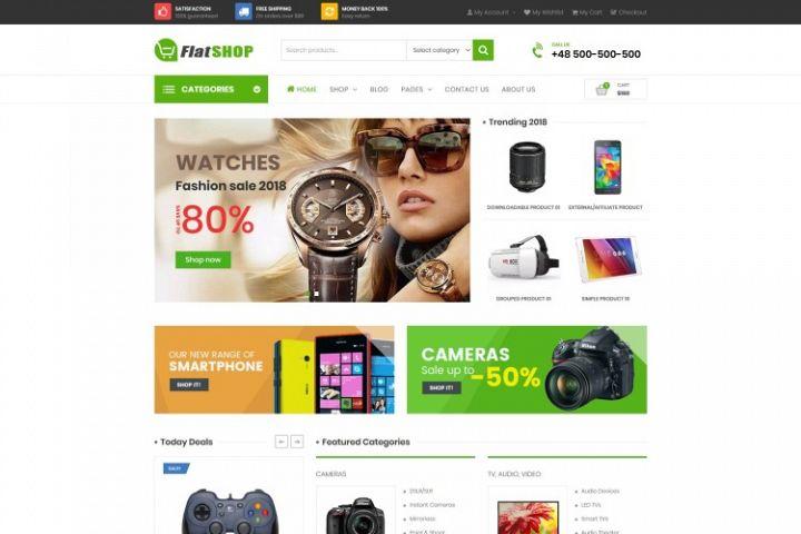 FlatSHOP - Multipurpose WooCommerce Elementor Theme