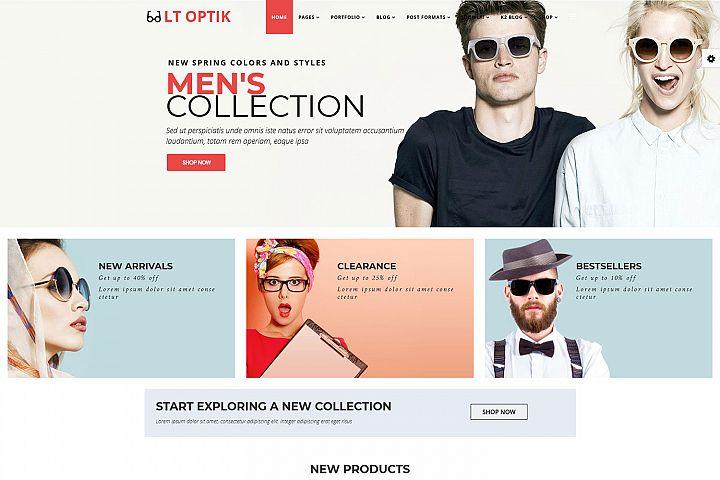 LT Optik - Premium Responsive Joomla EyeGlasses template