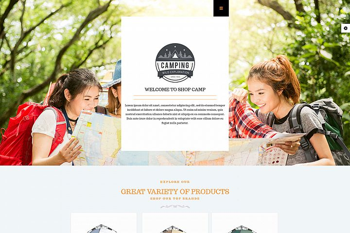 LT Camping - Premium Private Camping Website Template