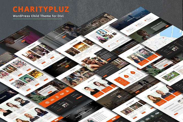 Charitypluz WordPress Child Theme for Divi