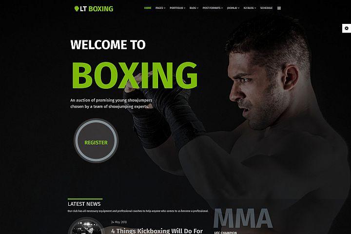 LT Boxing - Responsive Premium Private Joomla Sport Theme