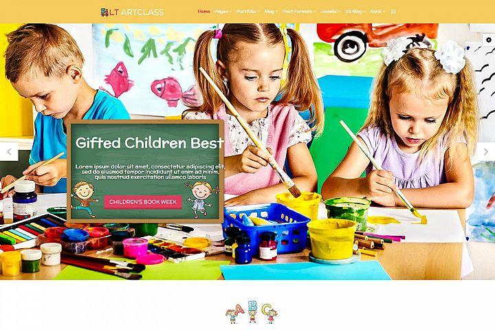LT ArtClass - Premium Private Joomla Art School Template