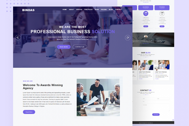 Bindas Consulting & Business HTML5 Template