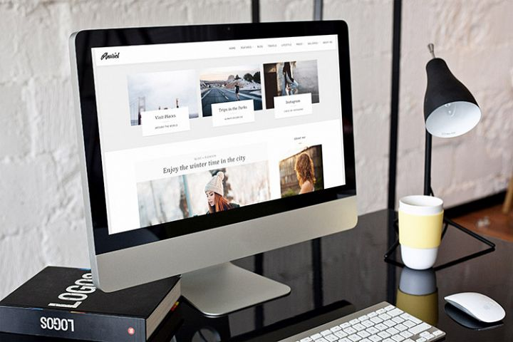 Anariel A WordPress Fashion Blog Theme