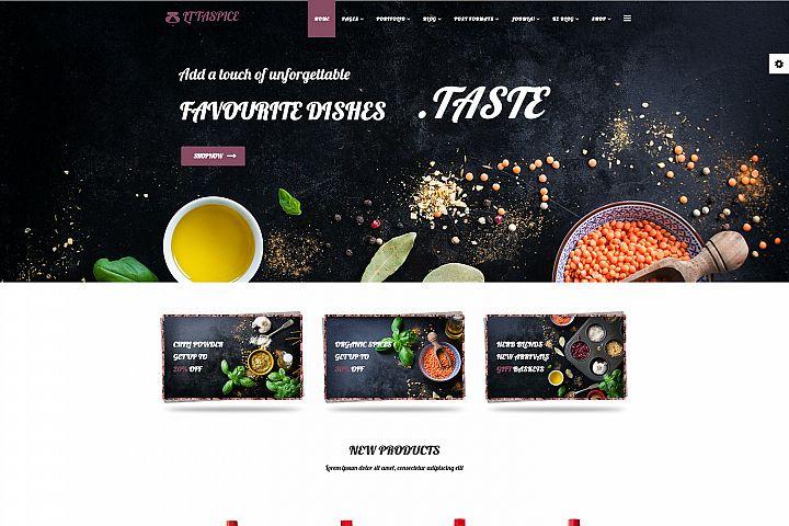 LT Taspice - Premium Responsive Joomla Cooking template